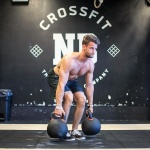 crossfitgames gave us an event with really heavy kettlebell deadliftshellip